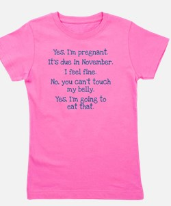 maternity shirt1 Girl's Tee