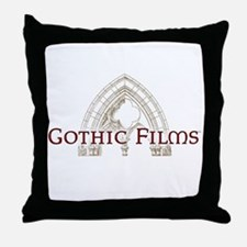 Gothic Films Classic Throw Pillow