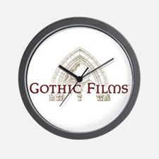 Gothic Films Classic Wall Clock