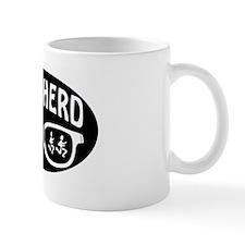Nerd Herd Glasses Oval Black Mug