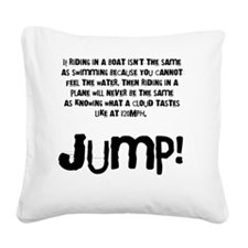 Taste the clouds Square Canvas Pillow