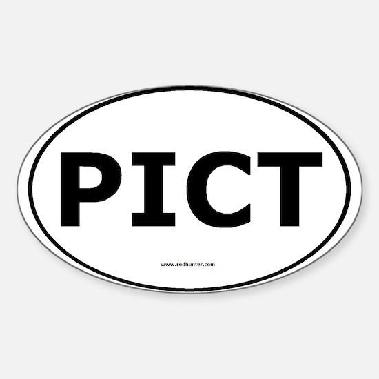 PICT Sticker (Oval)