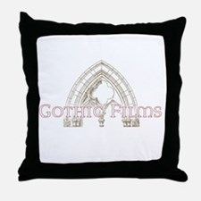 Gothic Films Ice Throw Pillow