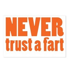 NEVER Trust a Fart Postcards (Package of 8)
