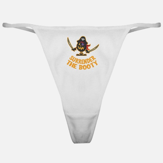 Pirate Halloween Classic Thong