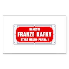Námestí Franze Kafky, Prague (CZ) Decal