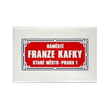 Námestí Franze Kafky, Prague (CZ) Rectangle Magnet