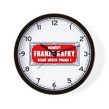 Námestí Franze Kafky, Prague (CZ) Wall Clock