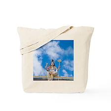 Figure on Hindu Temple, Mauritius Tote Bag