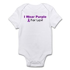 I Wear Purple For Lexi Infant Bodysuit