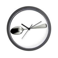 I Sort Spoons - DARK Wall Clock