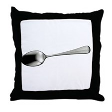 I Sort Spoons - DARK Throw Pillow