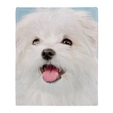 Cute Maltese Throw Blanket