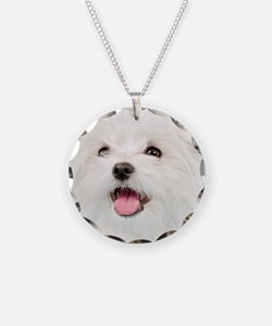 Cute Maltese Necklace
