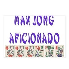 Mah Jong Aficionado Postcards (Package of 8)