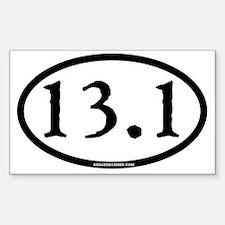 13.1 - plain - ticonderoga - c Decal