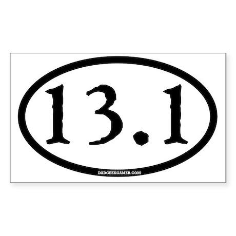 13.1 - plain - ticonderoga - c Sticker (Rectangle)