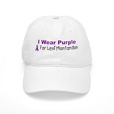 I Wear Purple For Lexi Montandon Baseball Cap