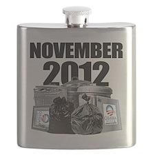 Change - Anti Obama Flask