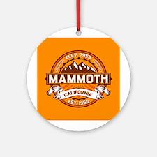 Mammoth Tangerine Ornament (Round)