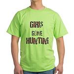 Women Hunting & Fishing produ Green T-Shirt