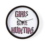 Women Hunting & Fishing produ Wall Clock