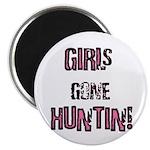 Women Hunting & Fishing produ Magnet