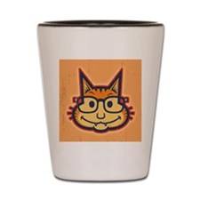 cat-nerd2-CRD Shot Glass