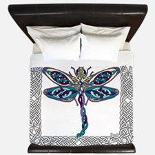 Dragonfly Shower Curtain King Duvet