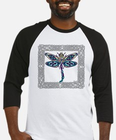 Dragonfly Shower Curtain Baseball Jersey