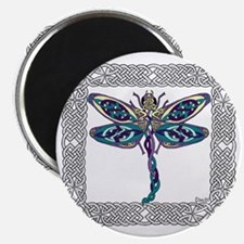 Dragonfly Shower Curtain Magnet
