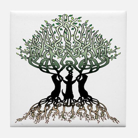 Tree of Life Shower Tile Coaster