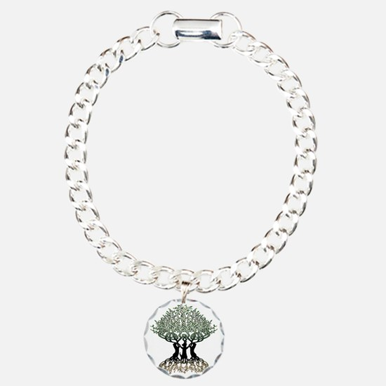 Tree of Life Shower Charm Bracelet, One Charm