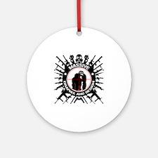 Massive GPX and Design Guns n Goril Round Ornament