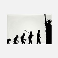 Statue-Of-Liberty Rectangle Magnet