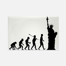 Statue-Of-Liberty2 Rectangle Magnet