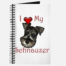 I love my Schnauzer Pup Journal