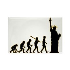 Statue-Of-Liberty3 Rectangle Magnet