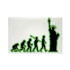 Statue-Of-Liberty4 Rectangle Magnet