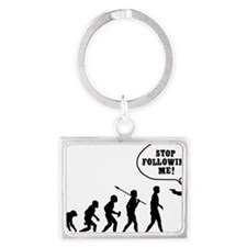 Stop-Following-Me Landscape Keychain