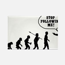 Stop-Following-Me Rectangle Magnet