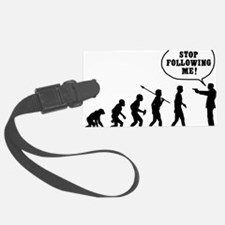 Stop-Following-Me Luggage Tag