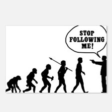 Stop-Following-Me Postcards (Package of 8)
