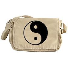 yin yang Messenger Bag