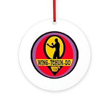 Wing Tchun Do Logo Round Ornament