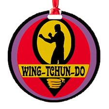 Wing Tchun Do Logo Ornament