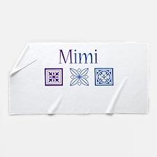 Mimi Quilt Blocks Beach Towel