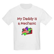 My Daddy Is A Mechanic Kids T-Shirt