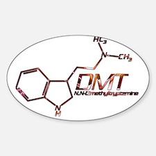 DMT Molecule Orange Decal