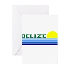 Cute Belize Greeting Cards (Pk of 10)